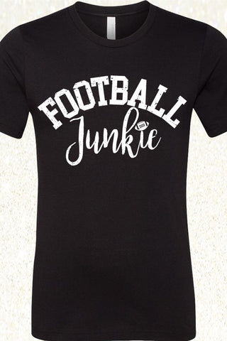 Football Junkie - Black