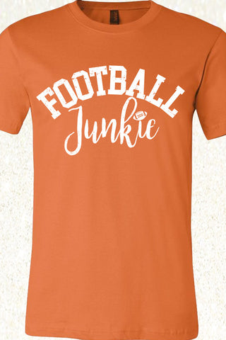 Football Junkie - Burnt Orange