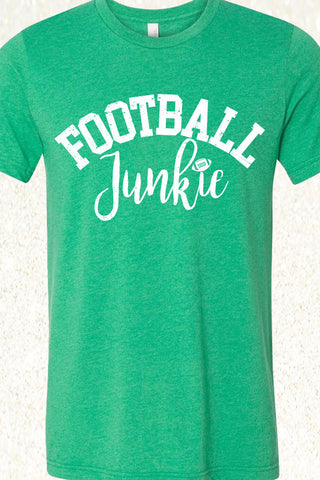 Football Junkie - Heather Kelly Green