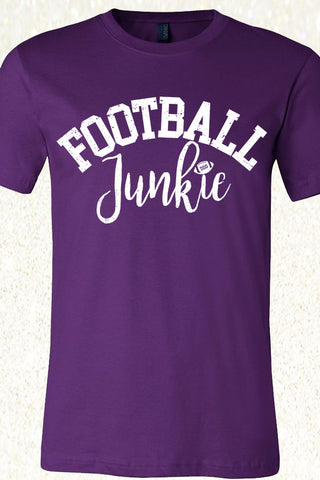 Football Junkie - Team Purple