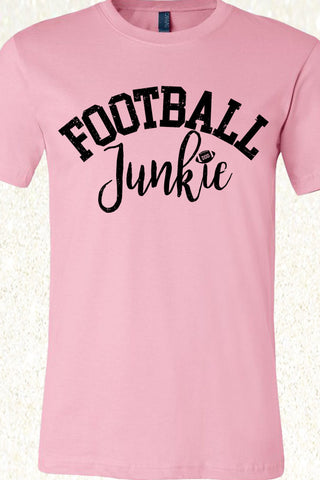 Football Junkie - Light Pink