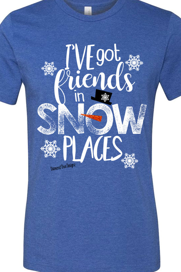 Friends In Snow Places Soft Tee