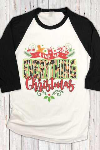 Everything Christmas Raglan