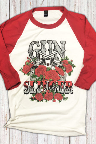 Gun Slinger Full Color Raglan
