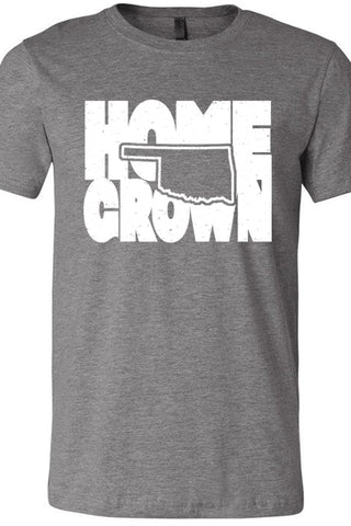 Home Grown Oklahoma Deep Heather Gray