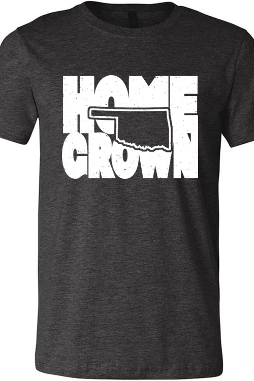 Home Grown Oklahoma Heather Dark Gray