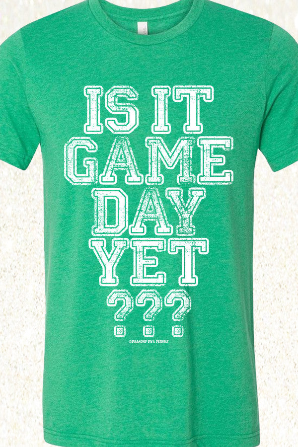 Is It Game Day Yet? Heather Kelly Green