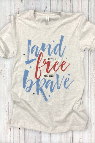 Land of the Free and the Brave Tee