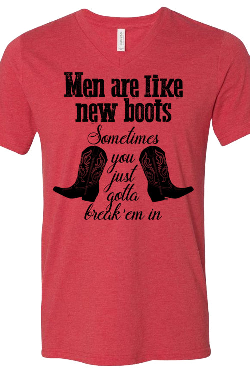 Men Are Like Boots