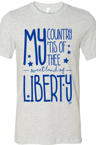 My Country Tis Of Thee Tee