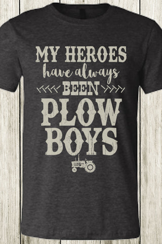 My Heroes Have Always Been Plow Boys