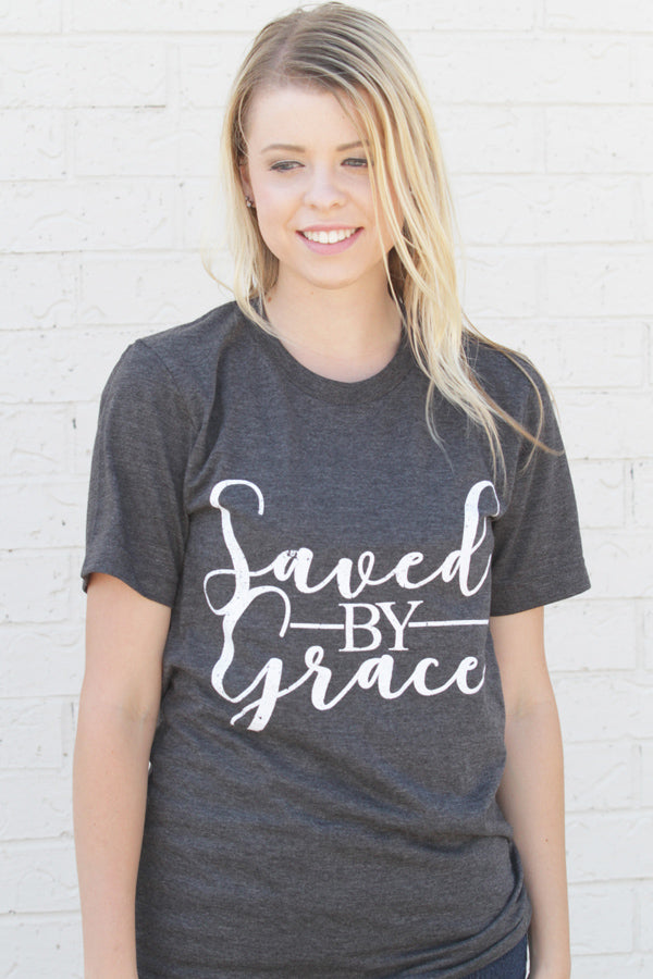 Saved By Grace Soft Tee