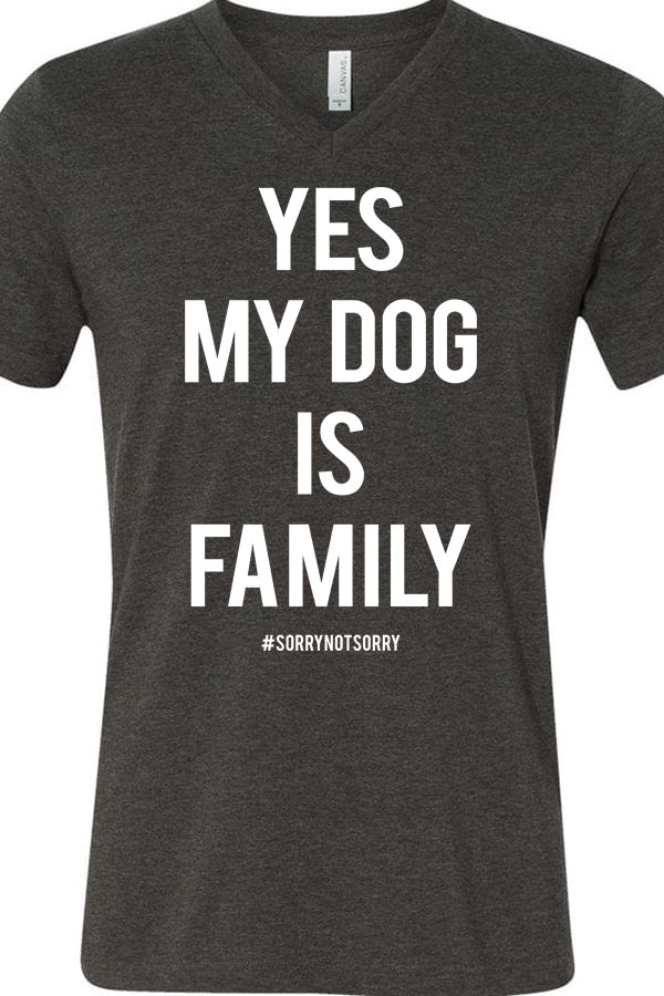 Yes My Dog is Family