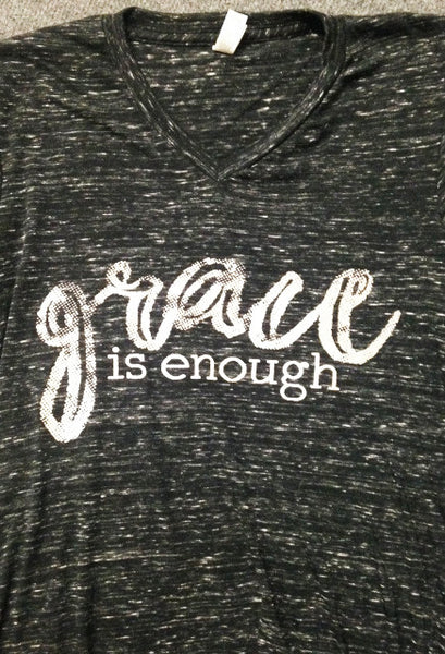 Grace Is Enough Marble Tee