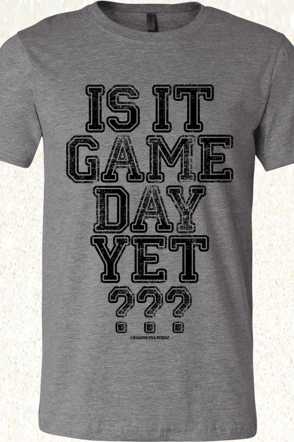 Is It Game Day Yet? Deep Heather