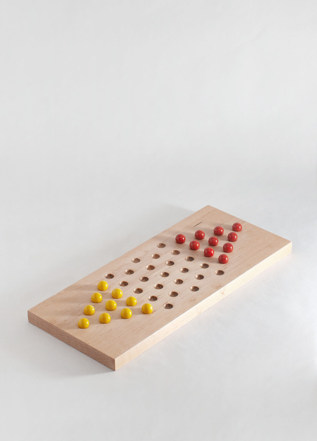 Chinese Checkers - Red & Yellow