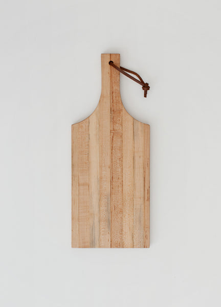 Cutting Board Traditional Wedge - Maple