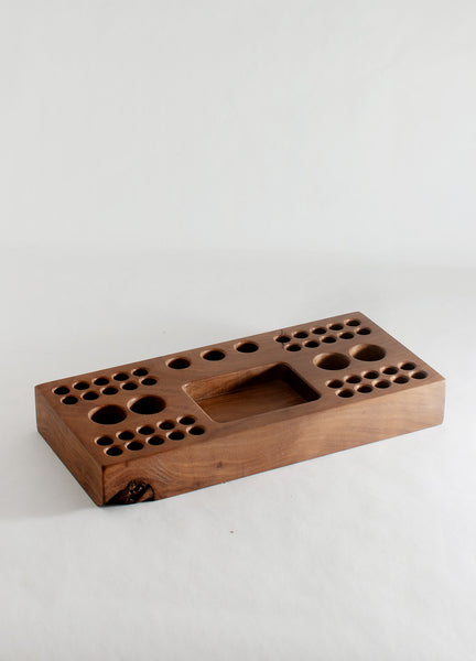 Utensil Block Walnut - 12""