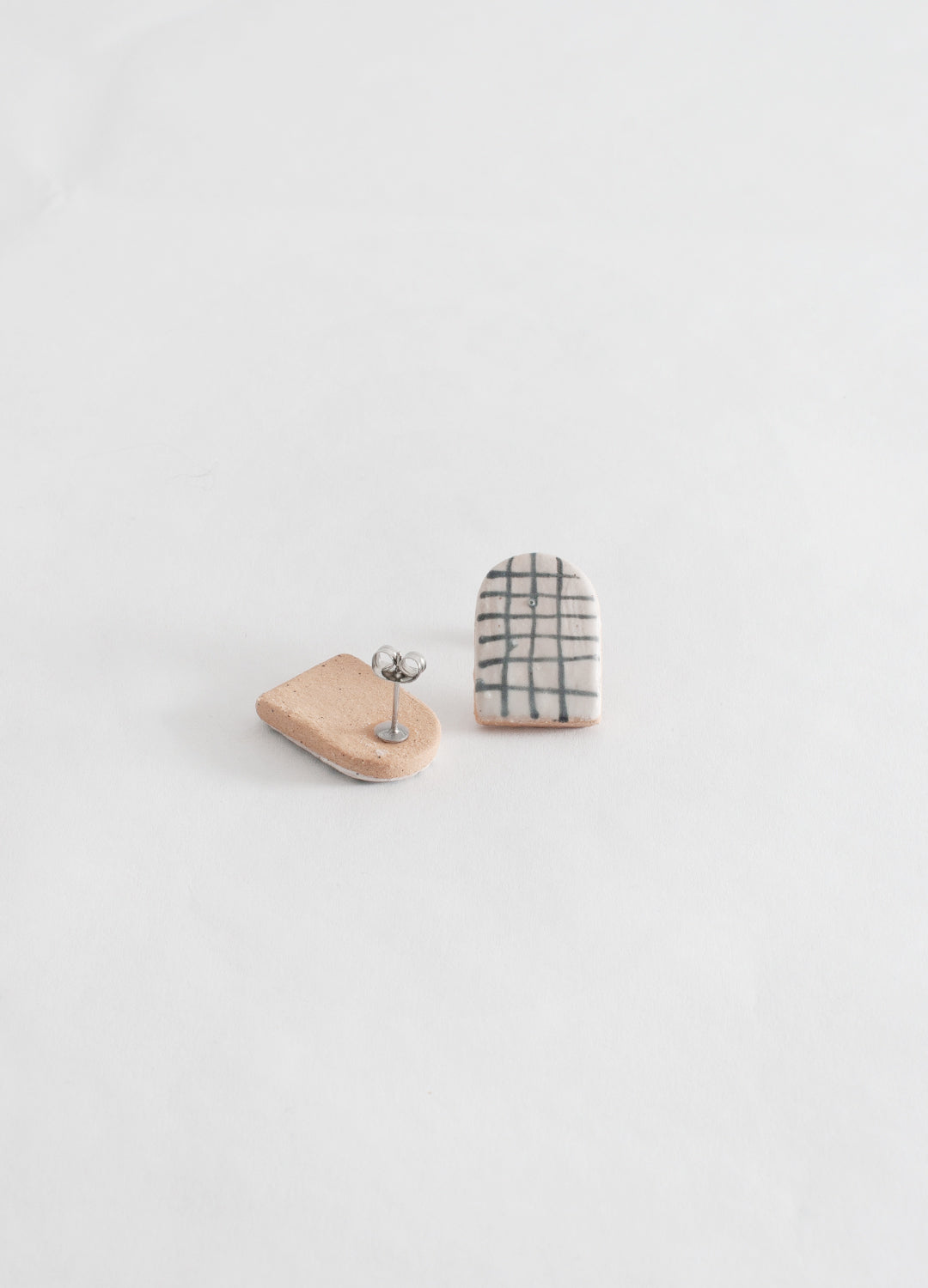 Small Arch Earrings  - Grids