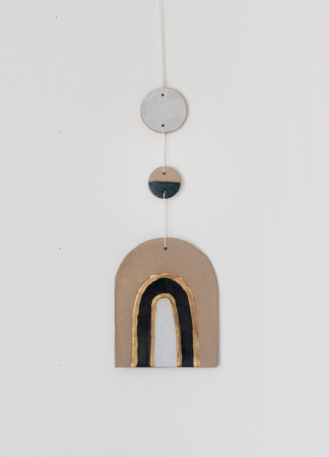 Wall Hanging Arch - Blue & White 001