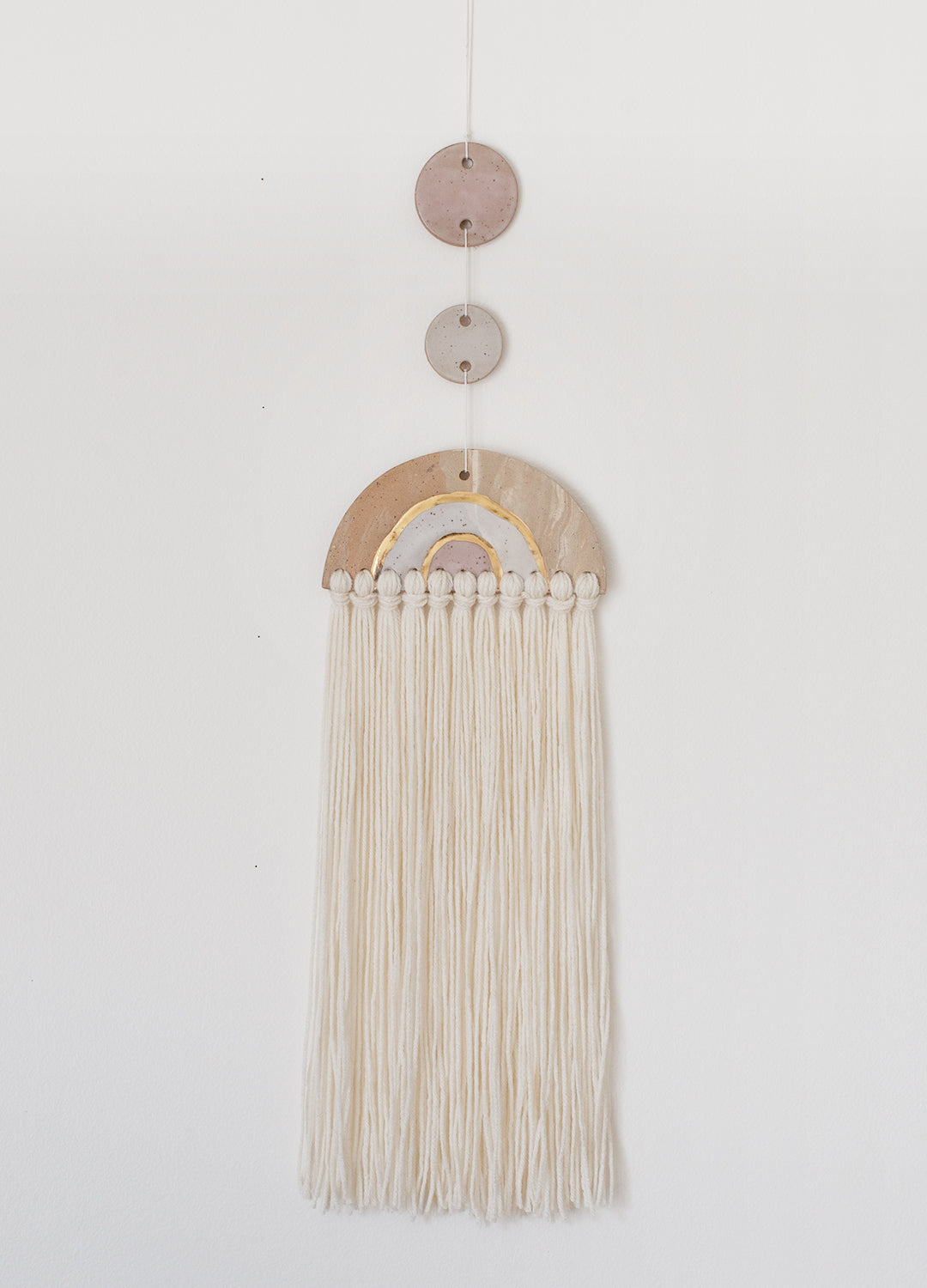 Wall Hanging Arch - Tassels 001