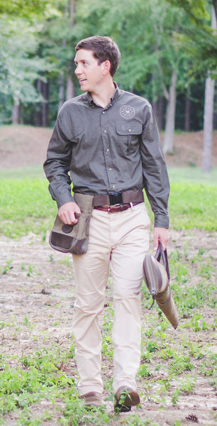 Long Sleeved Vented Back Shooting Shirt