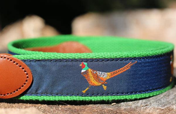 FIFTH&FIELDS Pheasant Ribbon Belt