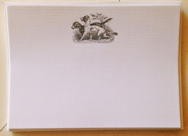 Woodland Series 5x7 Linen Stationery