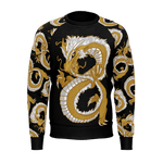 Last Dragon Infinity Long Sleeve Raglan Black