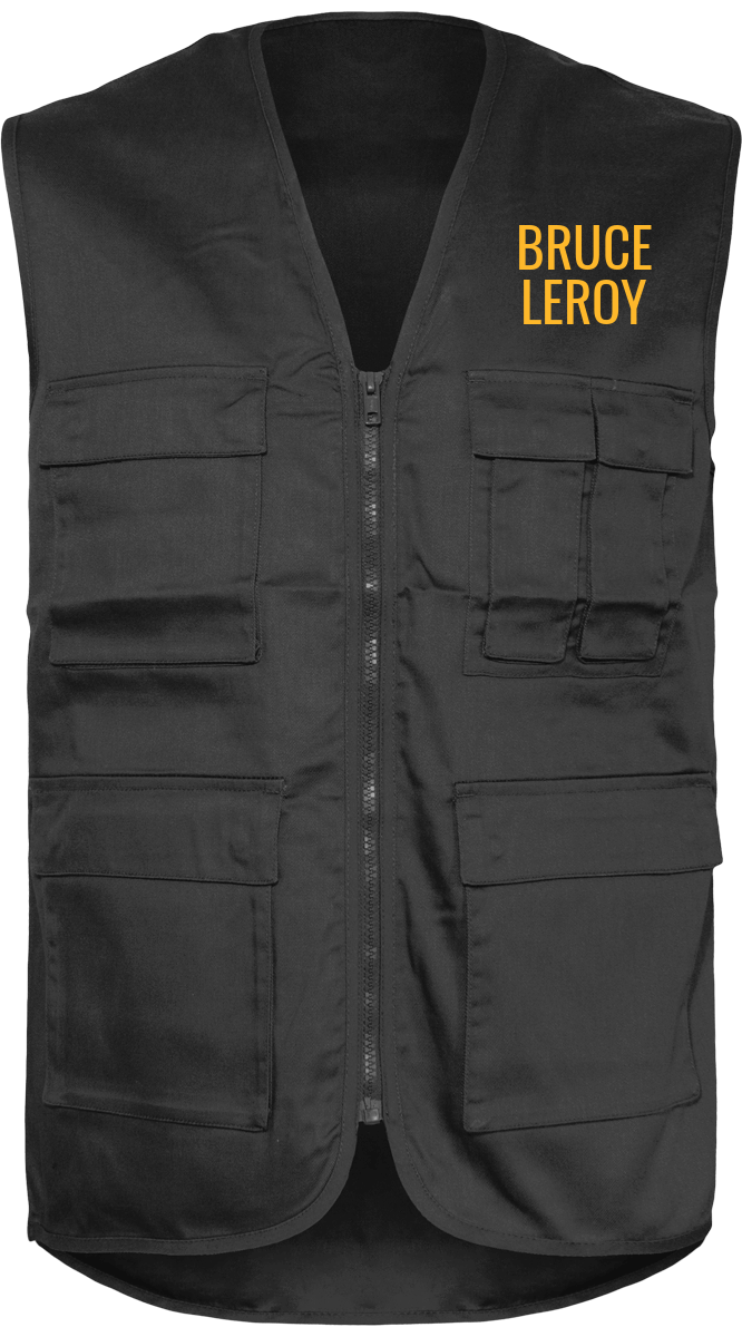 Last Dragon Unlined Multipocket Vest