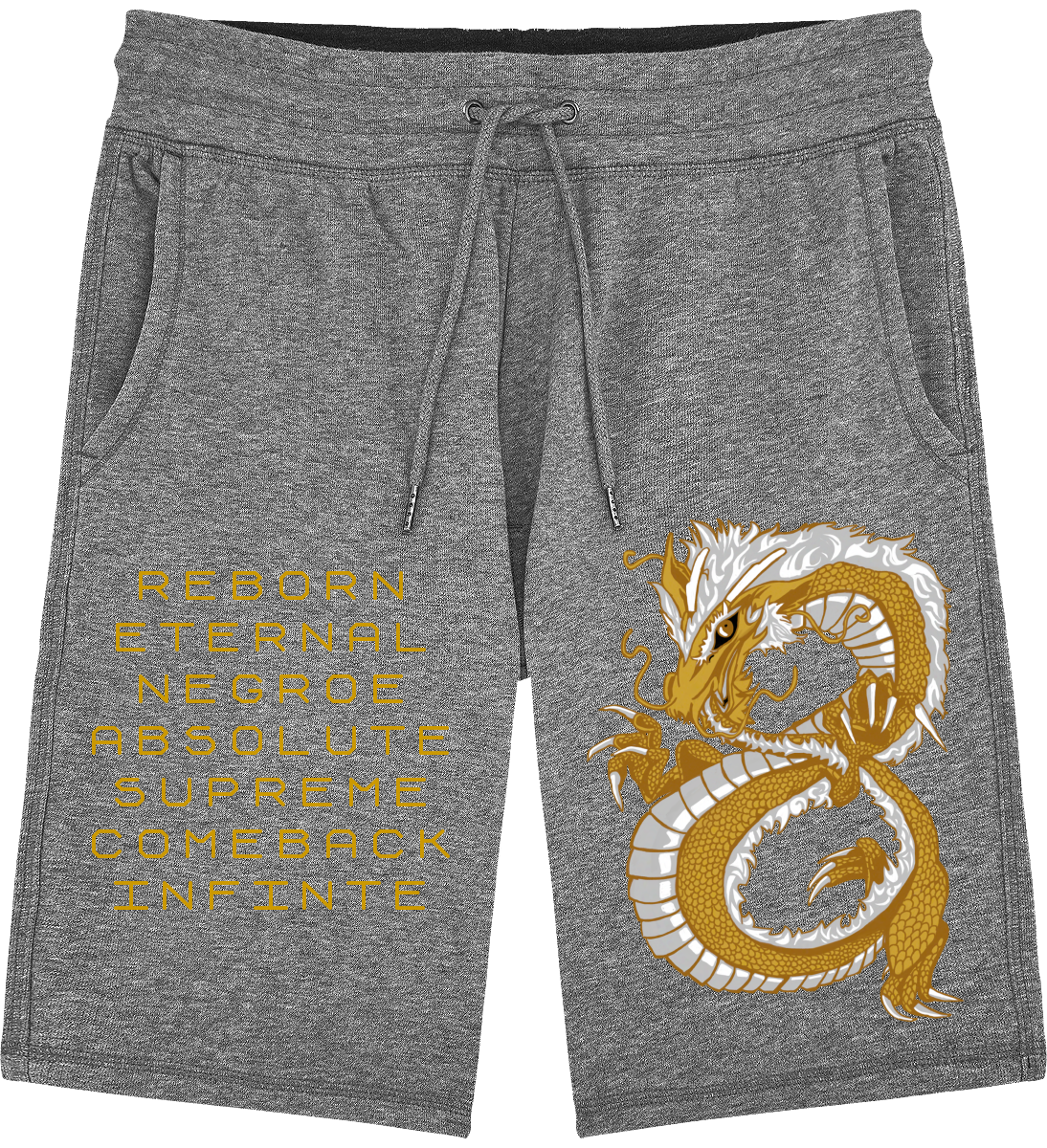 Last Dragon Acronym Jogging Short