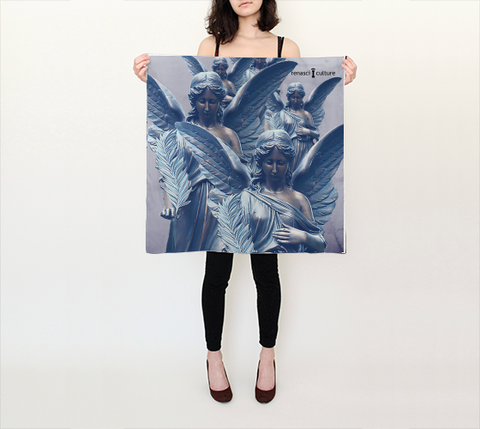 March of Angels Square Scarf