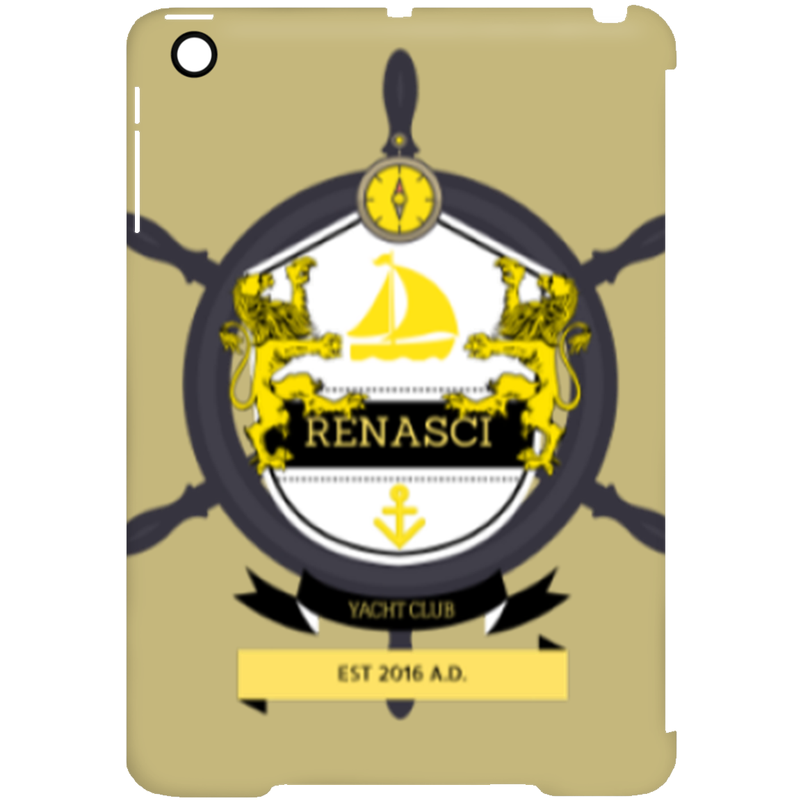 Yacht Club iPad Mini Clip Case