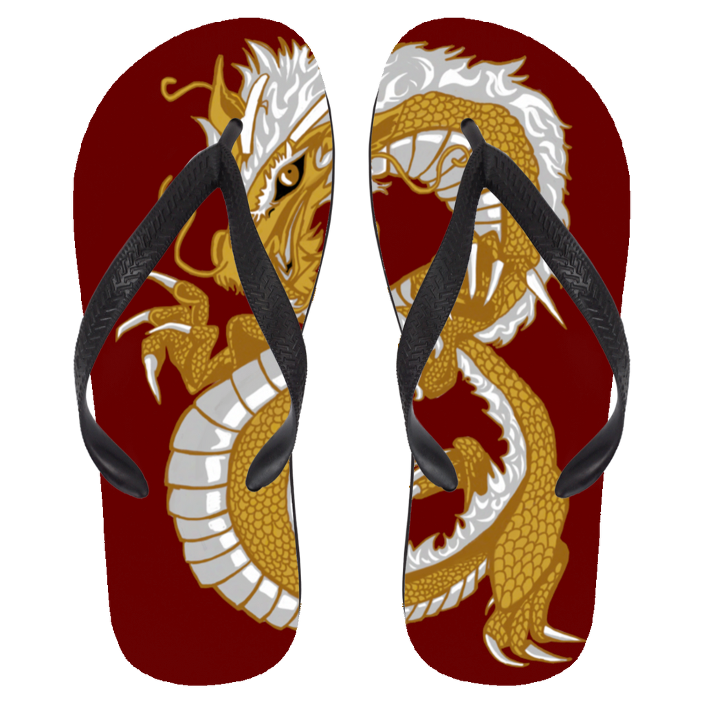 Last Dragon Flip Flops - Large