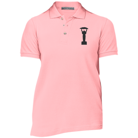 Ladies Icarus Cotton Pique Knit Polo