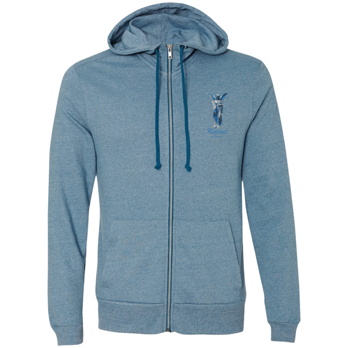 March of Angels Alternative Men's French Terry Full Zip
