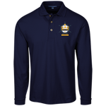 Yacht Club Long Sleeve Pique Knit Polo