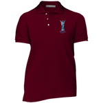 Ladies' March of Angels Cotton Pique Knit Polo
