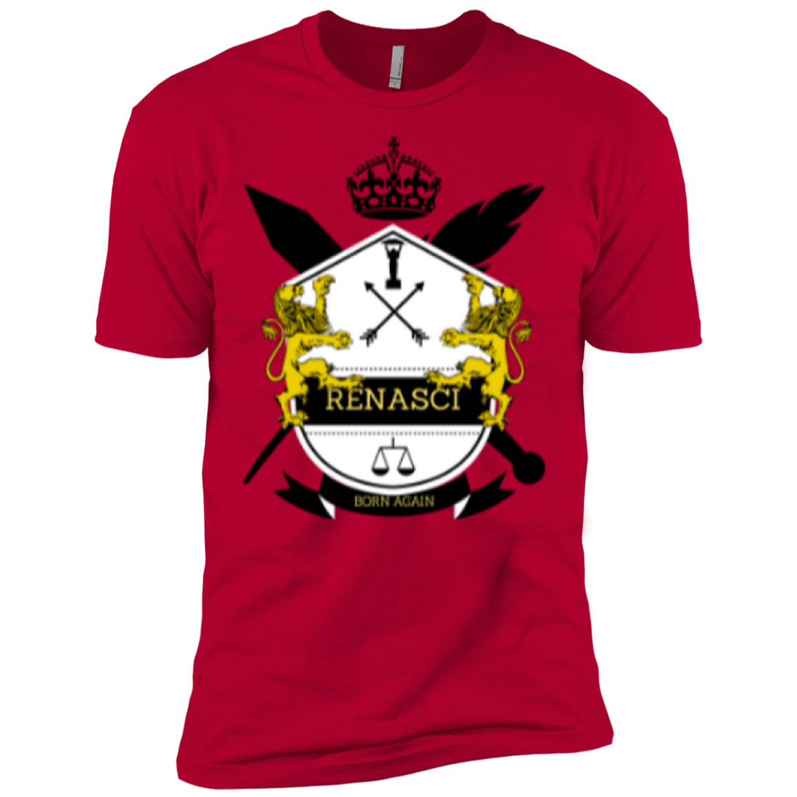 Signature Crest Next Level Premium Short Sleeve T-Shirt