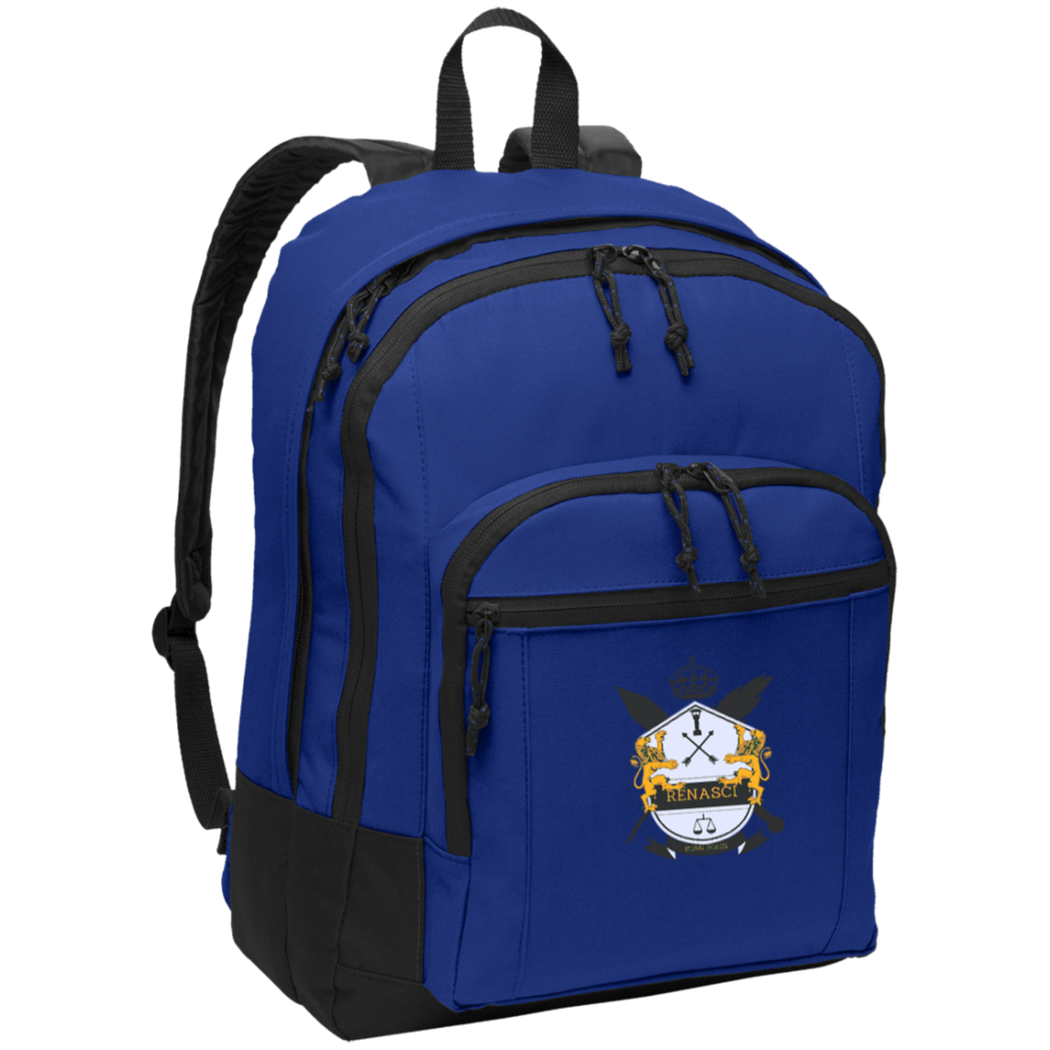 Basic Signature Crest Backpack