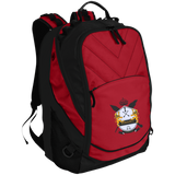 Embroidered Signature Crest Laptop Computer Backpack
