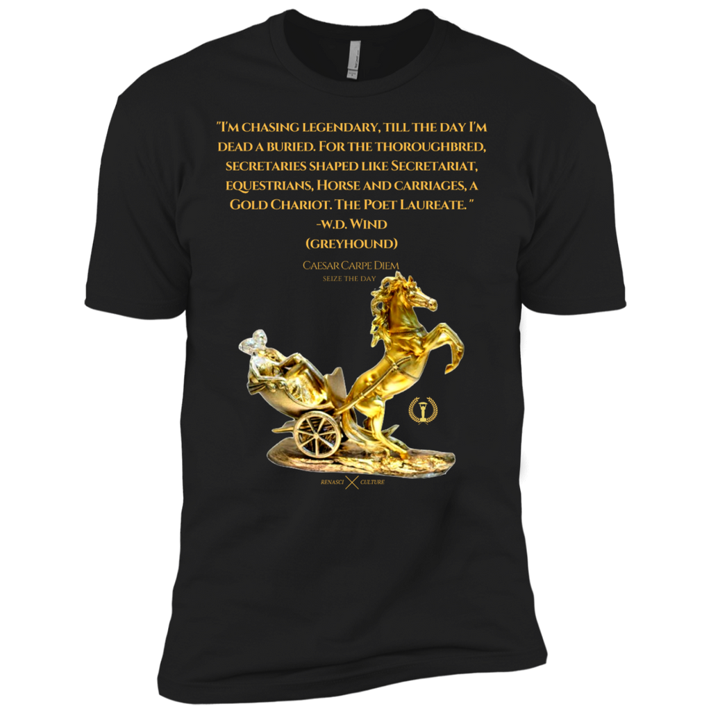Chariot Quote Premium Short Sleeve Tee