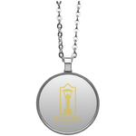 Born King Circle Necklace