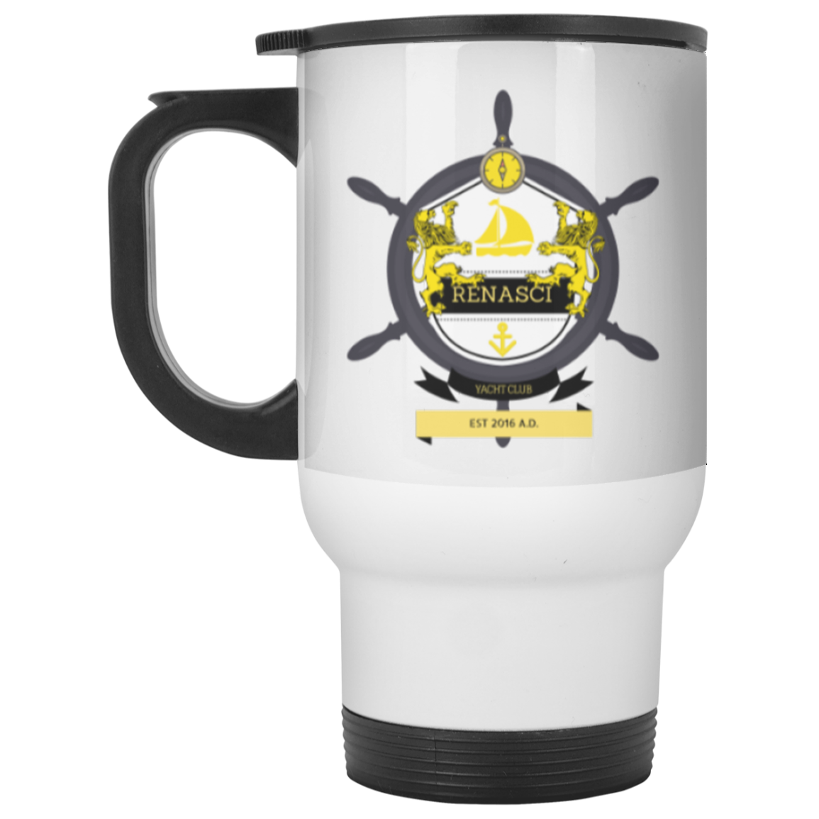 Yacht Club Travel Mug