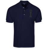 Icarus Cotton Pique Knit Polo