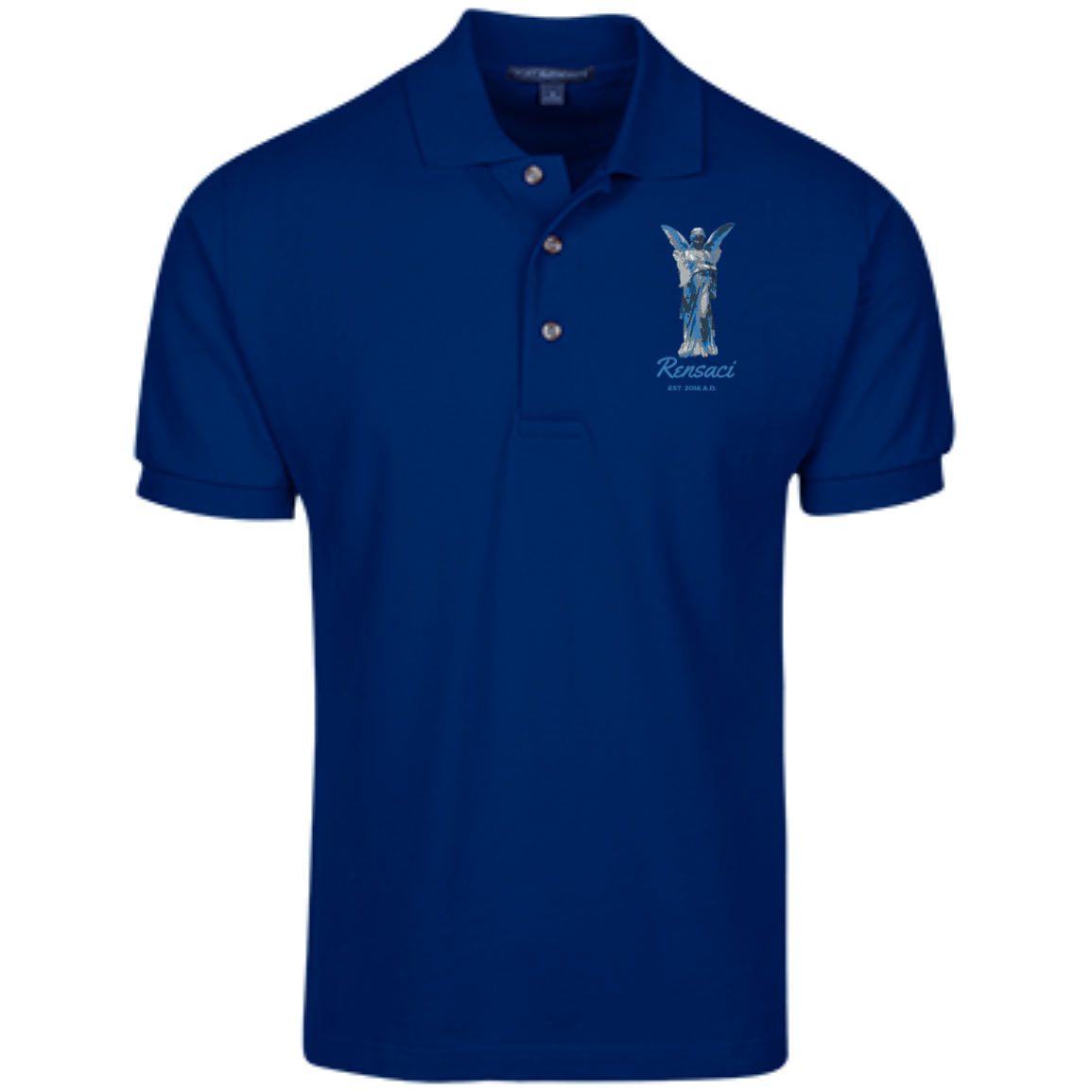 March of Angels Cotton Pique Knit Polo