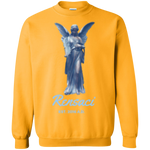 March of Angels Printed Crewneck Pullover Sweatshirt  8 oz