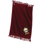 Yacht Club Embroidered Grommeted Finger Tip Towel