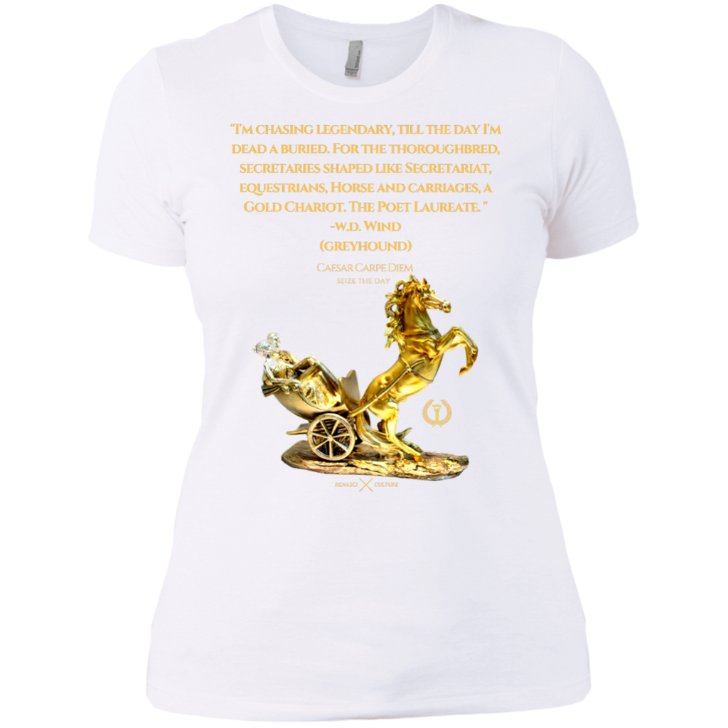 Chariot Quote Ladies' Boyfriend Tee