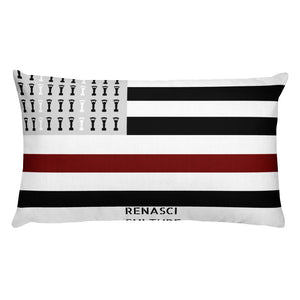 Renasci FLag Rectangular Pillow